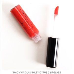 NWT MAC Cosmetics Viva Glam Miley Cyrus 2 LipGlass